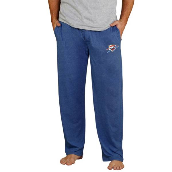Concepts Sport Men's Oklahoma City Thunder Quest Navy Jersey Pants product image