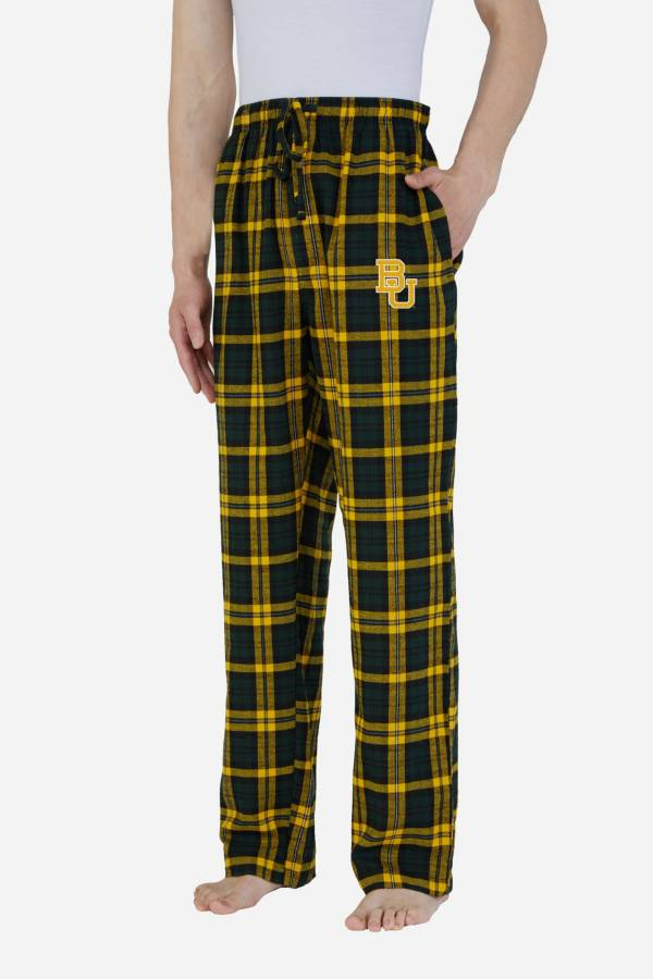 Concepts Sport Men's Baylor Bears Parkway Flannel Pajama Pants product image