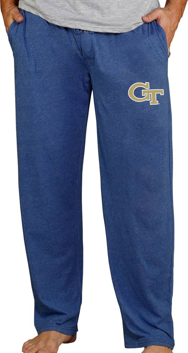 Concepts Sport Men's Georgia Tech Yellow Jackets Navy Quest Pants product image