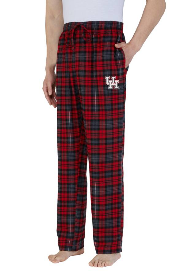 Concepts Sport Men's Houston Cougars Parkway Flannel Pajama Pants product image
