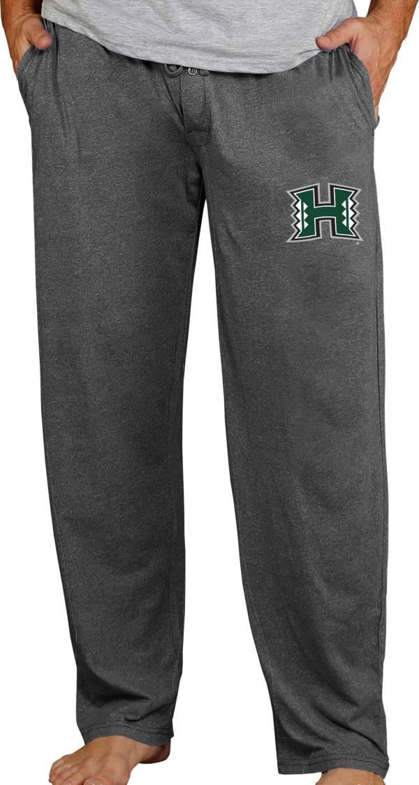 Concepts Sport Men's Hawai'i Warriors Charcoal Quest Pants product image