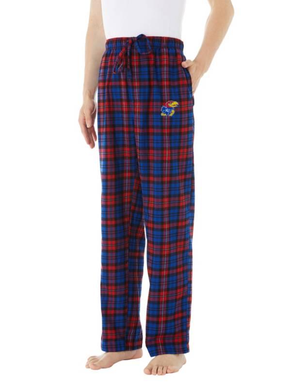 Concepts Sport Men's Kansas Jayhawks Parkway Flannel Pajama Pants product image