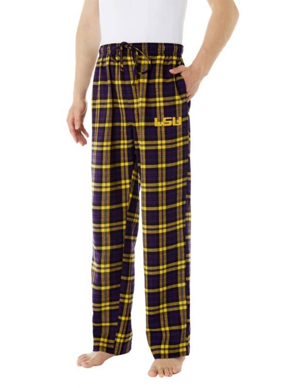 Concepts Sport Men's LSU Tigers Parkway Flannel Pajama Pants product image