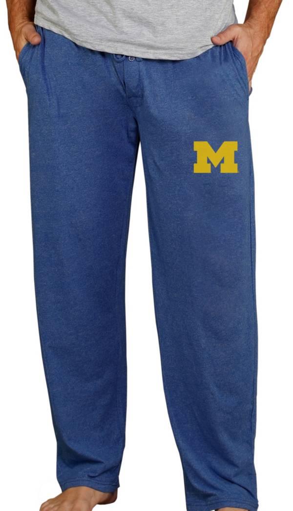 Concepts Sport Men's Michigan Wolverines Blue Quest Pants product image