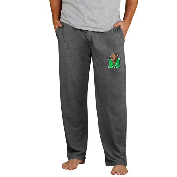 Concepts Sport Men's Marshall Thundering Herd Charcoal Quest Pants product image