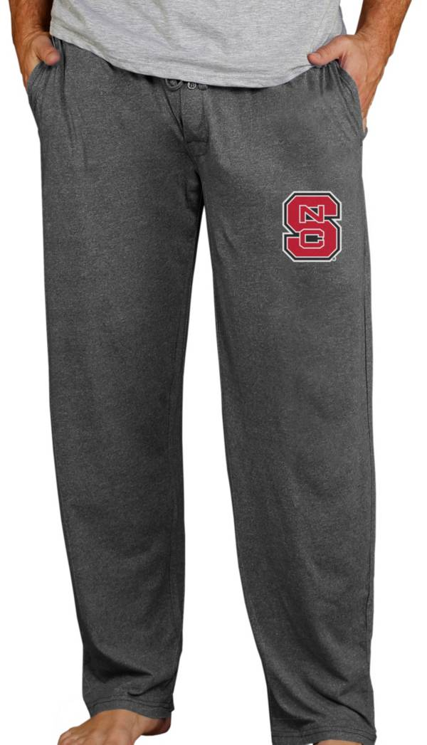 Concepts Sport Men's NC State Wolfpack Charcoal Quest Pants product image