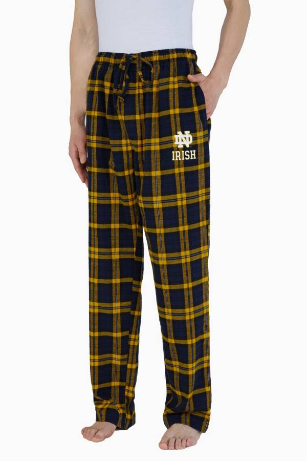 Concepts Sport Men's Notre Dame Fighting Irish Parkway Flannel Pajama Pants product image
