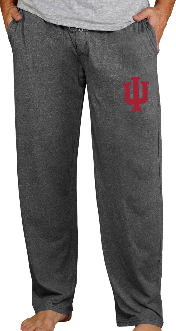 Concepts Sport Men's Indiana Hoosiers Charcoal Quest Pants product image