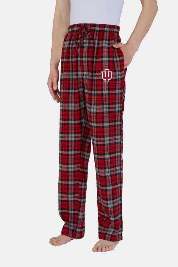 Concepts Sport Men's Indiana Hoosiers Parkway Flannel Pajama Pants product image