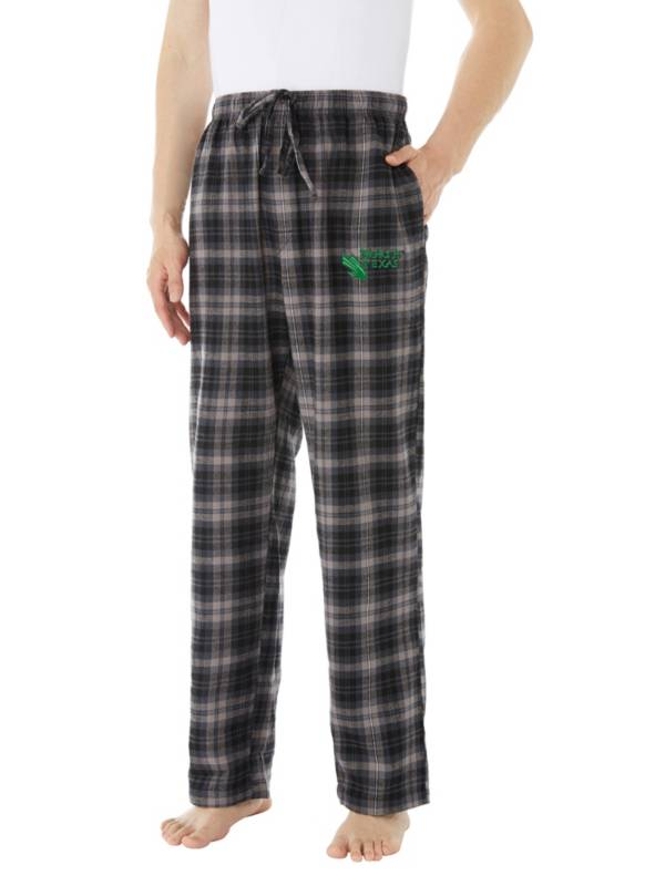 Concepts Sport Men's North Texas Mean Green Parkway Flannel Pajama Pants product image