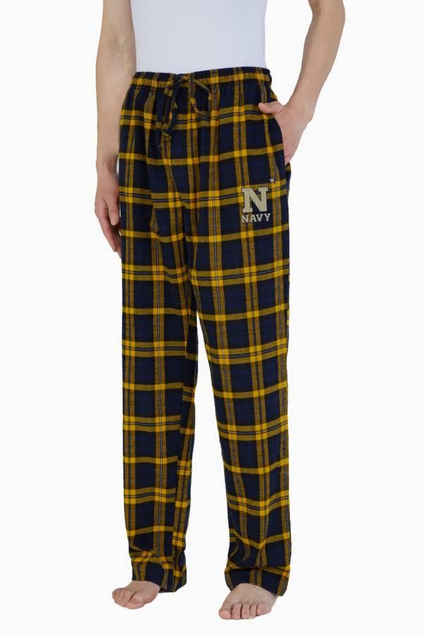 Concepts Sport Men's Navy Midshipmen Parkway Flannel Pajama Pants product image