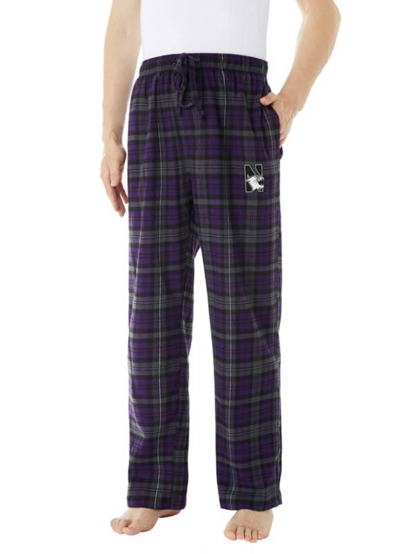 Concepts Sport Men's Northwestern Wildcats Parkway Flannel Pajama Pants product image