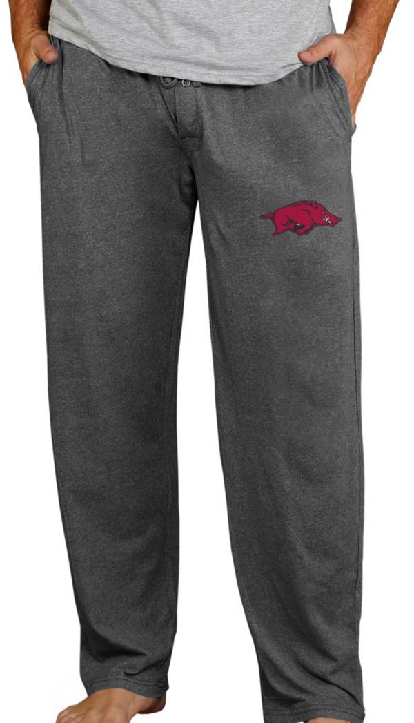 Concepts Sport Men's Arkansas Razorbacks Charcoal Quest Pants product image