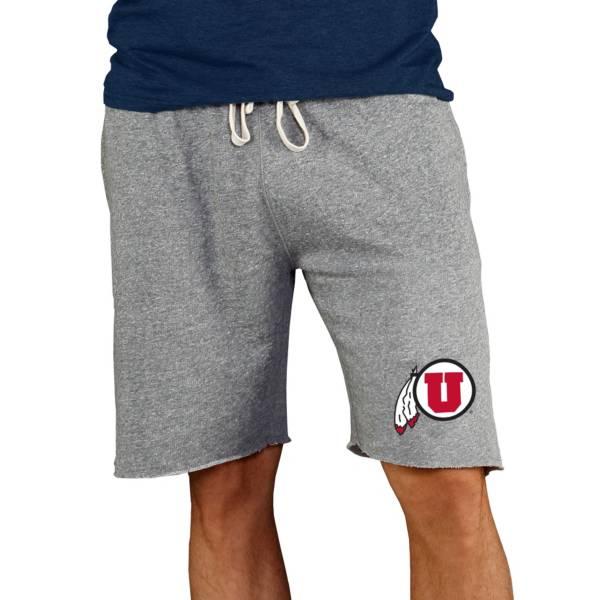 Concepts Sport Men's Utah Utes Charcoal Mainstream Shorts product image