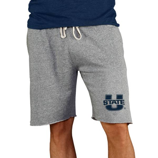 Concepts Sport Men's Utah State Aggies Charcoal Mainstream Shorts product image