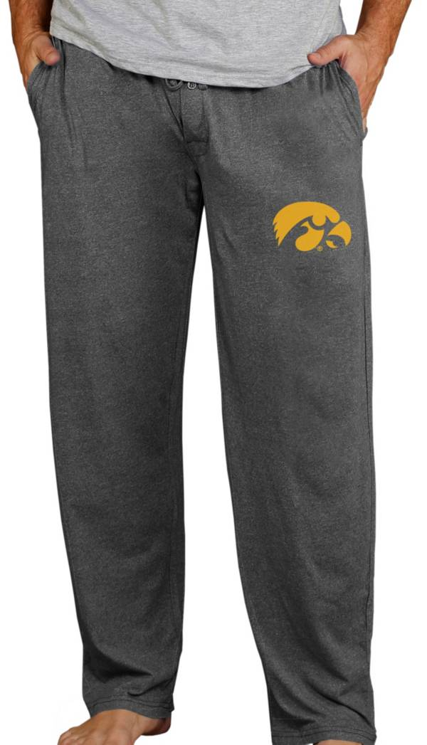 Concepts Sport Men's Iowa Hawkeyes Charcoal Quest Pants product image