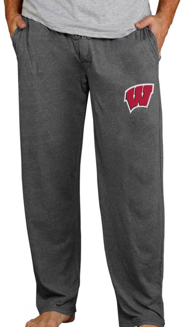 Concepts Sport Men's Wisconsin Badgers Charcoal Quest Pants product image