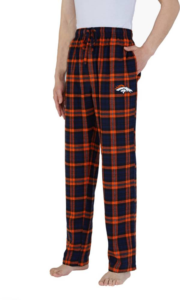 Concepts Sport Men's Denver Broncos Parkway Navy Flannel Pants product image