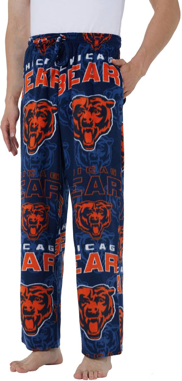 Concepts Sport Men's Chicago Bears Pinnacle Navy Fleece Pants product image