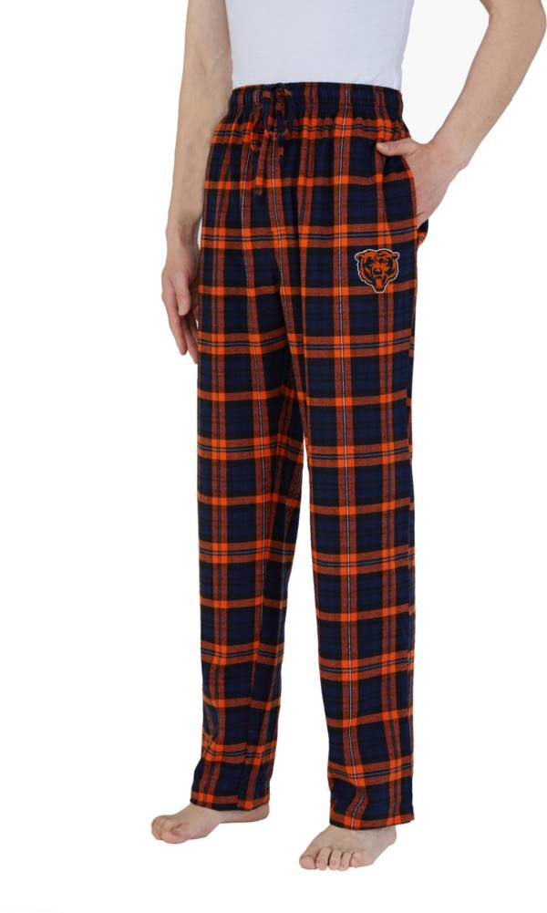 Concepts Sport Men's Chicago Bears Parkway Navy Flannel Pants product image