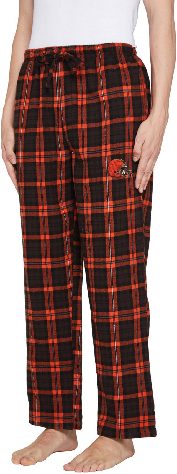 Concepts Sport Men's Cleveland Browns Parkway Brown Flannel Pants product image