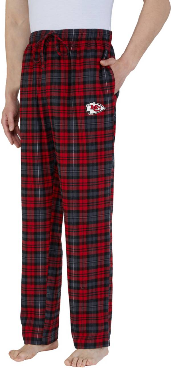 Concepts Sport Men's Kansas City Chiefs Parkway Red Flannel Pants product image