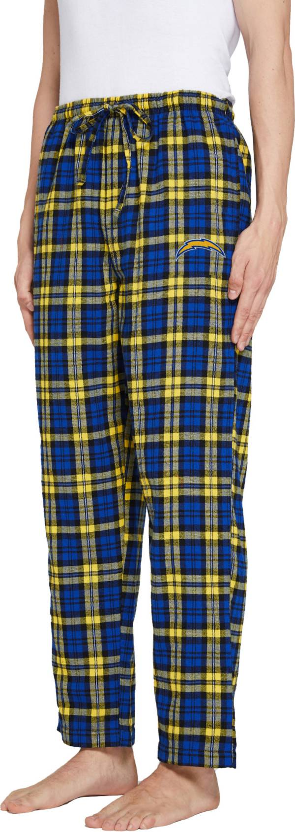 Concepts Sport Men's Los Angeles Chargers Parkway Royal Flannel Pants product image