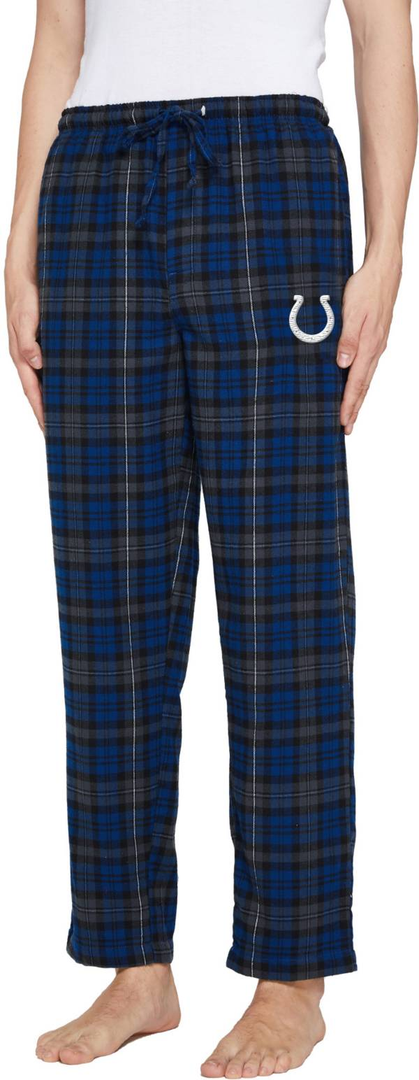 Concepts Sport Men's Indianapolis Colts Parkway Blue Flannel Pants product image