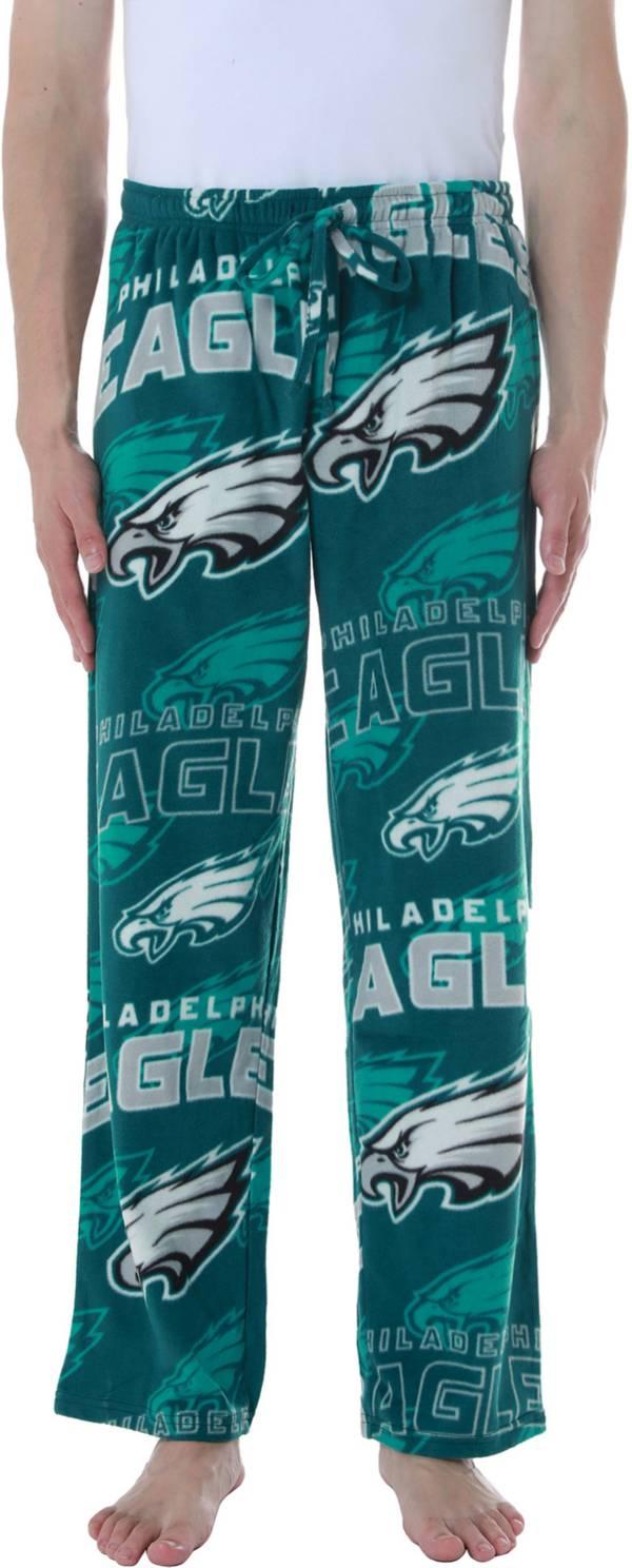 Concepts Sport Men's Philadelphia Eagles Pinnacle Green Fleece Pants product image