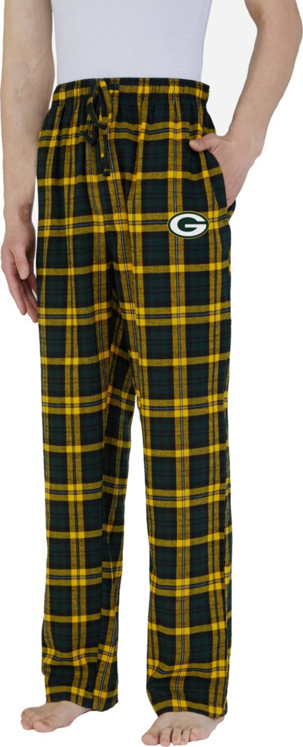 Concepts Sport Men's Green Bay Packers Parkway Green Flannel Pants product image