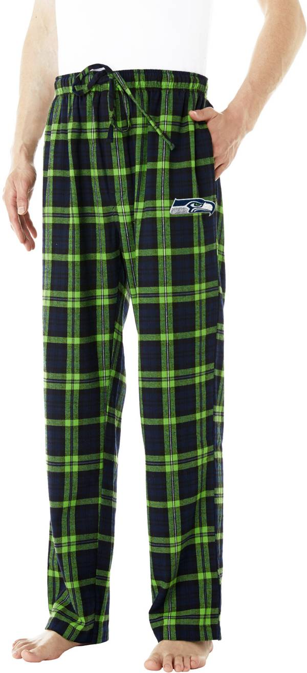 Concepts Sport Men's Seattle Seahawks Parkway Navy Flannel Pants product image
