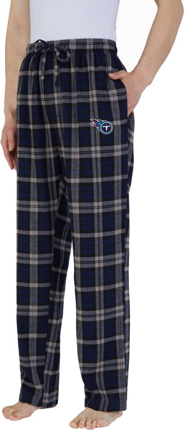 Concepts Sport Men's Tennessee Titans Parkway Navy Flannel Pants product image