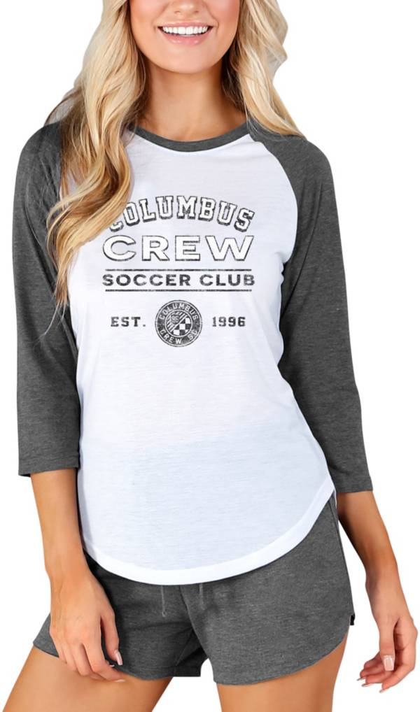 Concepts Sport Women's Columbus Crew Crescent White Long Sleeve Top product image