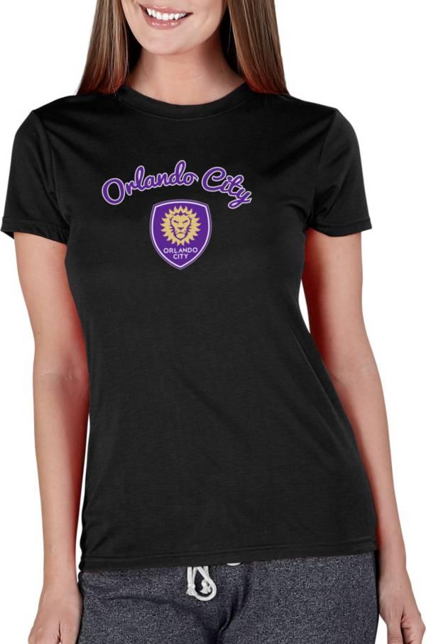 Concepts Sport Women's Orlando City Marathon Black Short Sleeve Top product image