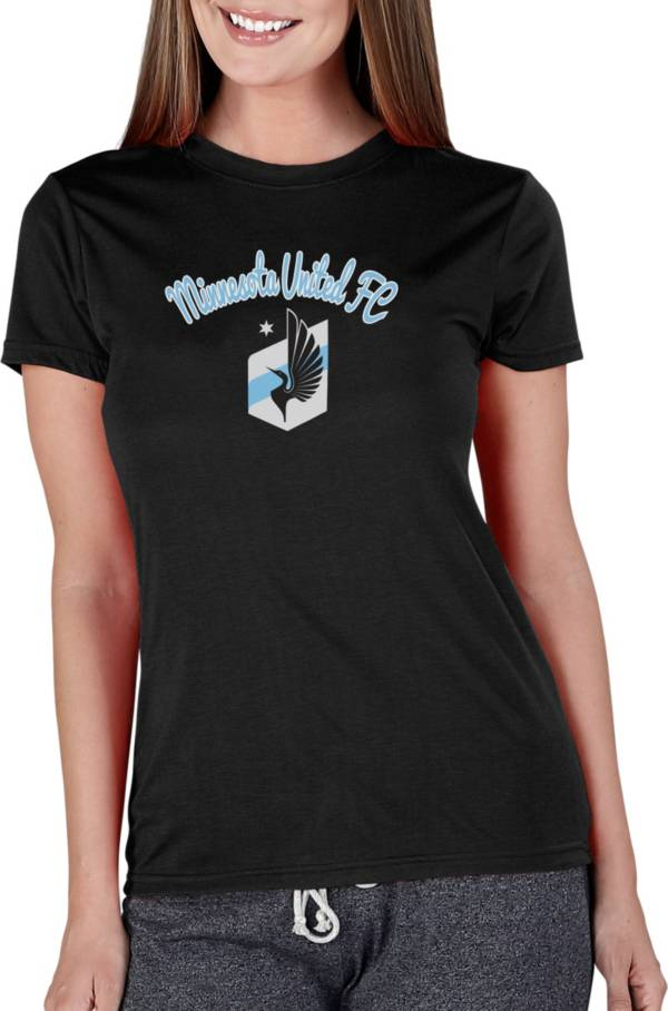 Concepts Sport Women's Minnesota United FC Marathon Black Short Sleeve Top product image