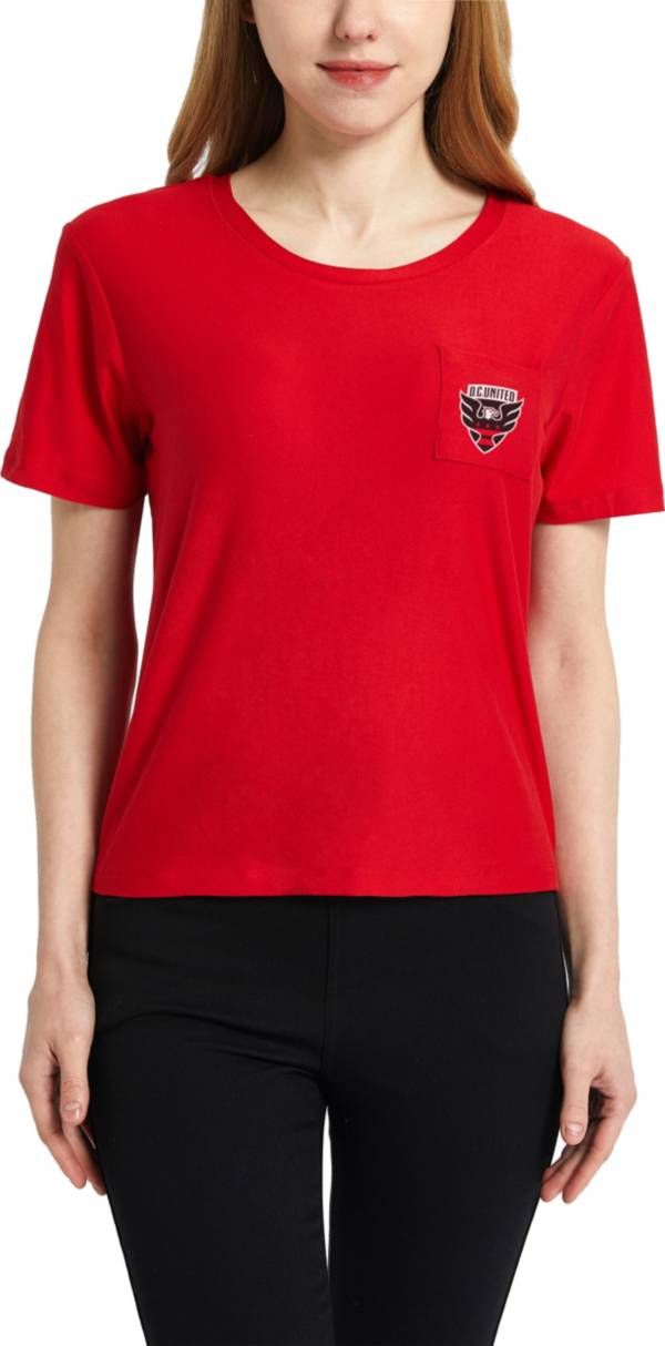 Concepts Sport Women's D.C. United Zest Red Short Sleeve Top product image