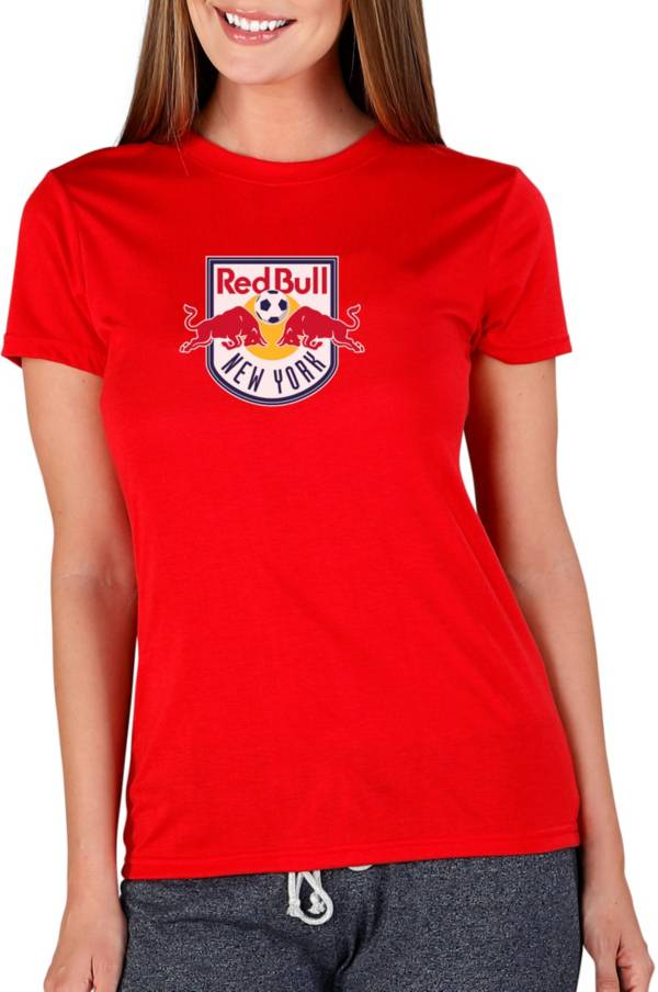 Concepts Sport Women's New York Red Bulls Marathon Red Short Sleeve Top product image