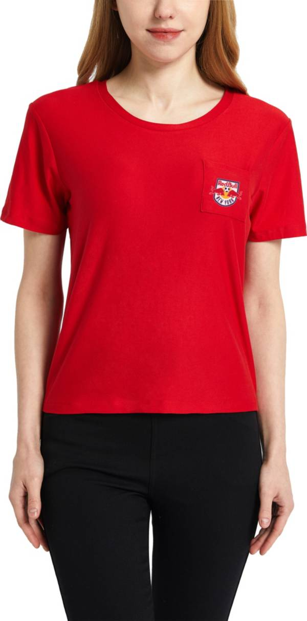 Concepts Sport Women's New York Red Bulls Zest Red Short Sleeve Top product image