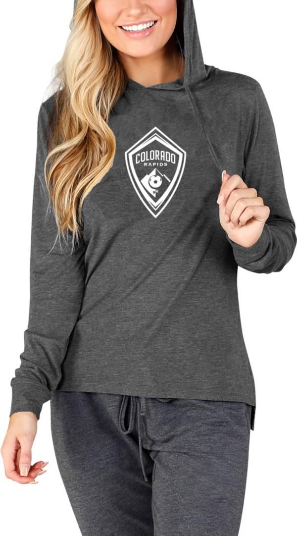 Concepts Sport Women's Colorado Rapids Crescent Charcoal Long Sleeve Top product image
