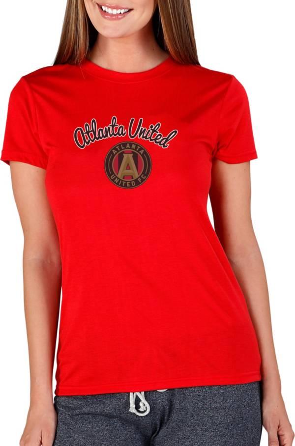 Concepts Sport Women's Atlanta United Marathon Red Short Sleeve Top product image