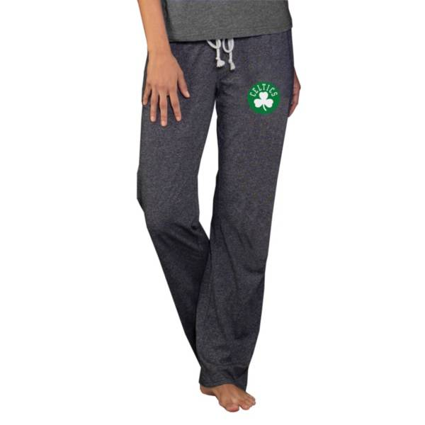 Concepts Sport Women's Boston Celtics Quest Grey Jersey Pants product image