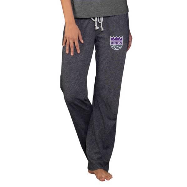 Concepts Sport Women's Sacramento Kings Quest Grey Jersey Pants product image