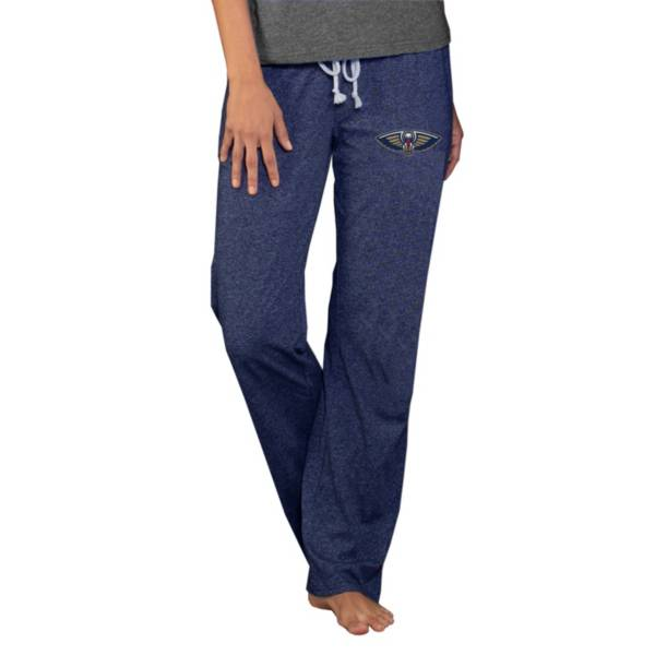 Concepts Sport Women's New Orleans Pelicans Quest Navy Jersey Pants product image
