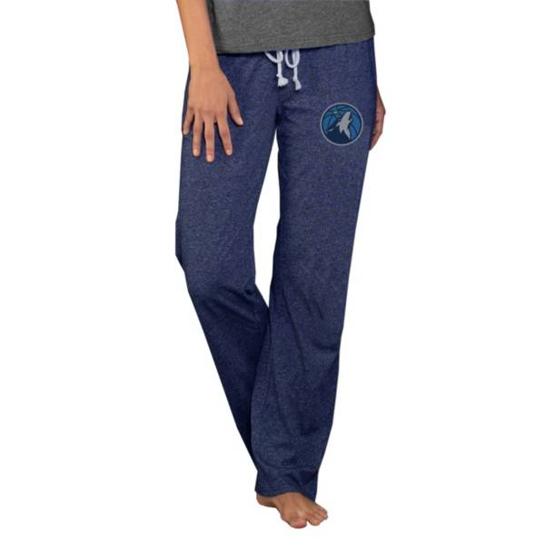 Concepts Sport Women's Minnesota Timberwolves Quest Navy Jersey Pants product image