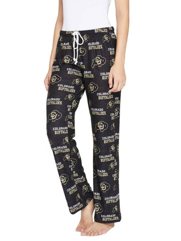 Concepts Sport Women's Colorado Buffaloes Zest Knit Pants product image