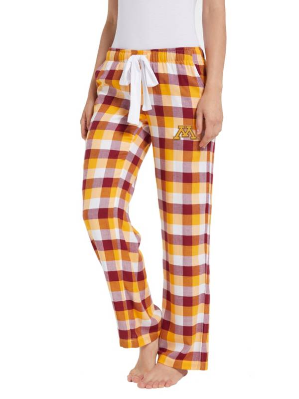 Concepts Sport Women's Minnesota Golden Gophers Flannel Pajama Pants product image