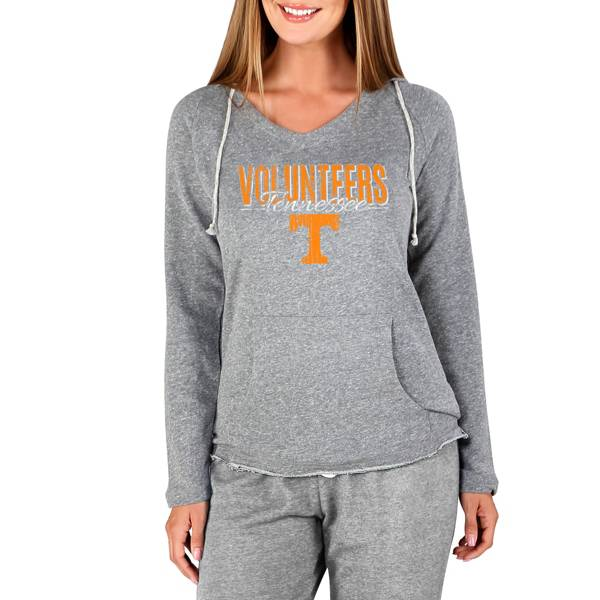 Concepts Sport Women's Tennessee Volunteers Mainstream Grey Terry Pullover Hoodie product image