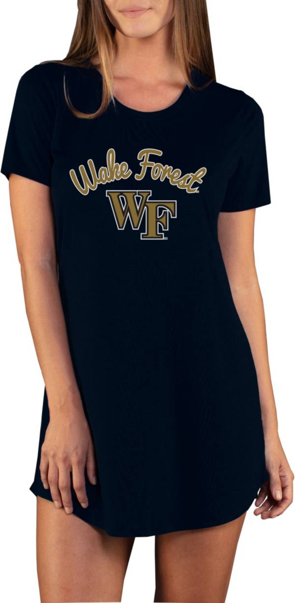 Concepts Sport Women's Wake Forest Demon Deacons Black Night Shirt product image