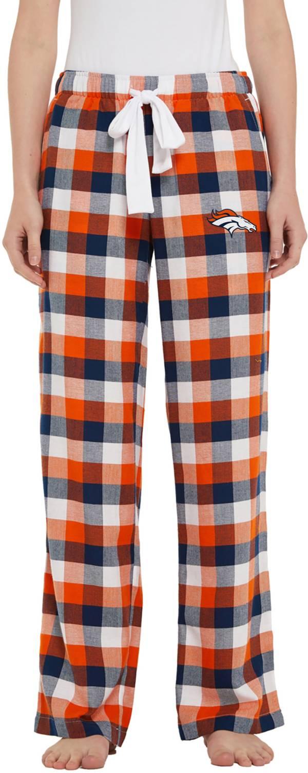 Concepts Sport Women's Denver Broncos Breakout Navy Flannel Pants product image