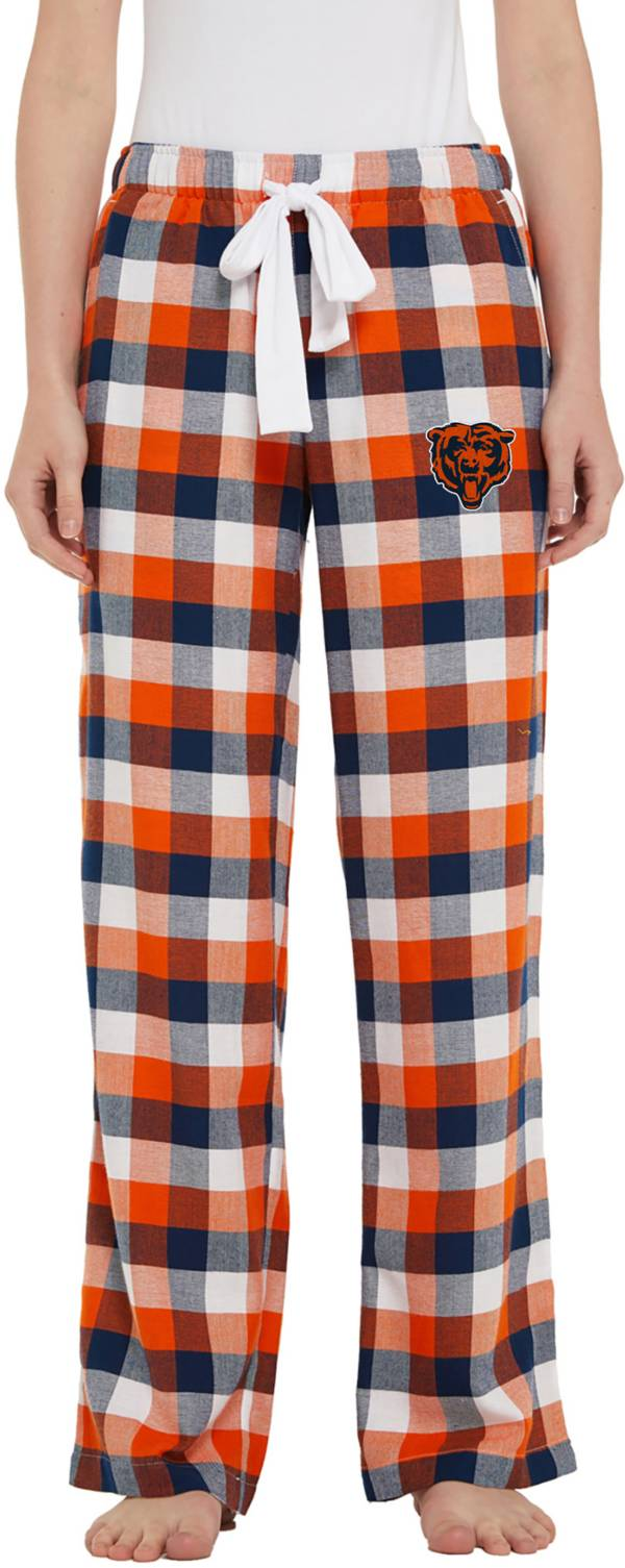 Concepts Sport Women's Chicago Bears Breakout Navy Flannel Pants product image